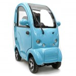 Cabin Car Scooter Blue