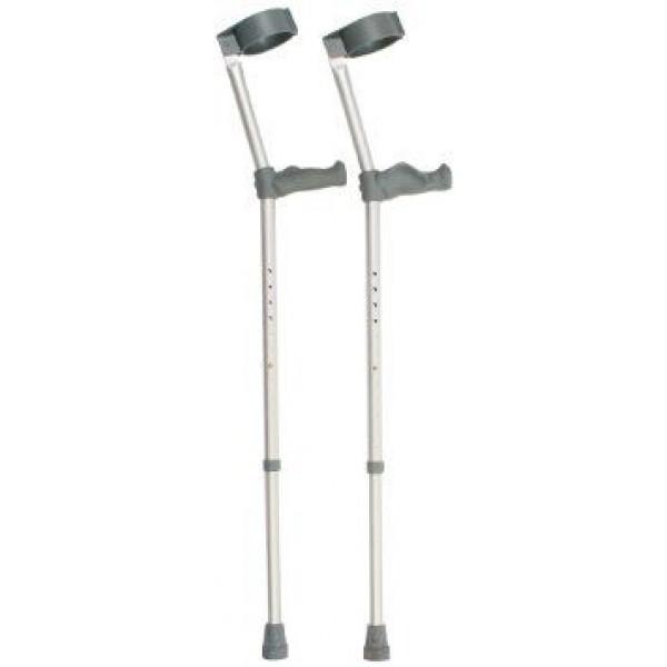 Ergonomic Handle Crutches (Double Adjustable)