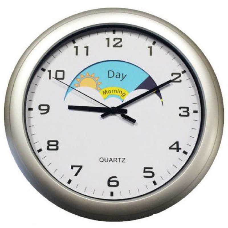 analogue dementia care day night clock go mobility ireland. Black Bedroom Furniture Sets. Home Design Ideas