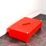 Red Bath Step