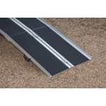 8ft Multi-Fold Split Economy Ramp with Grip Surface