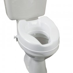 "4"" Raised Toilet Seat"