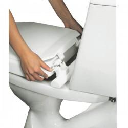 Hi-Loo Fixed Raised Toilet Seat with Lid