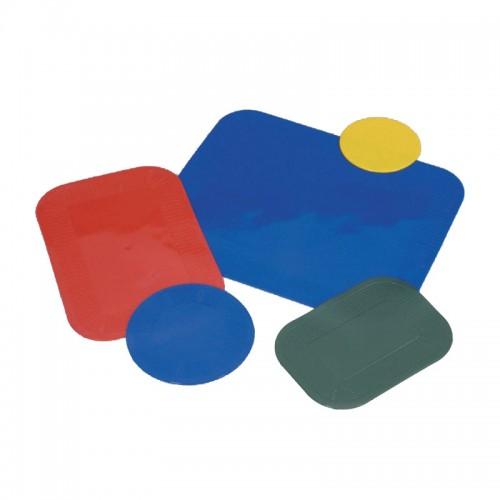 Non Slip Pad Rectangular 35x25cm Blue