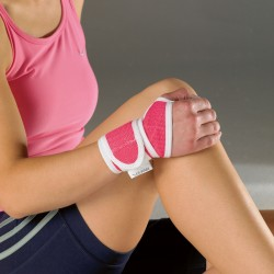 Vulkan® Advanced Elastic Pink Wrist Support - One size fits all