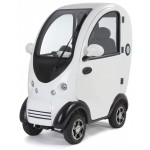 Cabin Car Scooter White