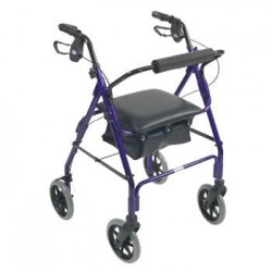 Days Lightweight Rollator - Blue (Tall)