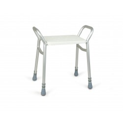 Lightweight Adjustable Height Shower Stool
