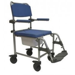 Days Deluxe Shower Commode Chairs Attendant / Transit