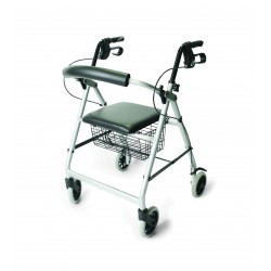 Days Lightweight Rollator - Silver