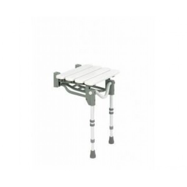 Slatted Wall Mounted Shower Stool