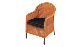wicker commode